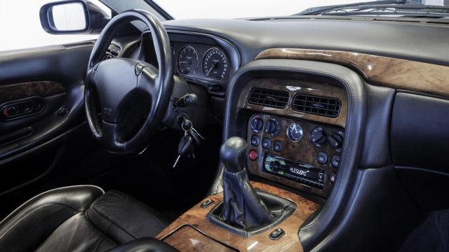 Aston Martin DB7 V12 Vantage ohjaamo - Tori.fi