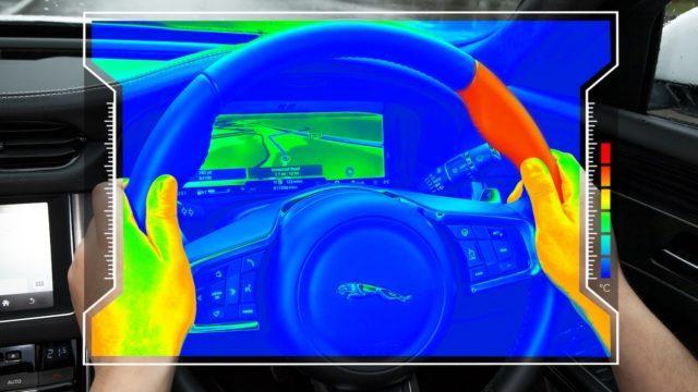 Jaguar Land Roverin rattiprototyyppi opastaa lämmöllä