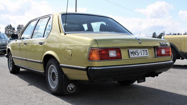 BMW 733 takavasen - Tori.fi