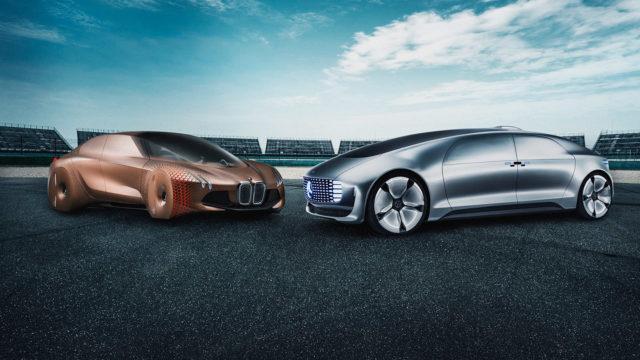 BMw ja Mercedes-Benz yhteistyö