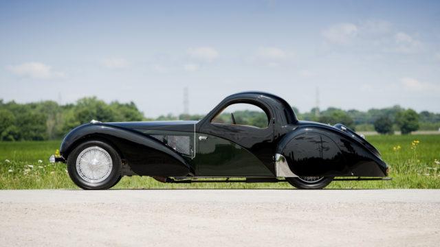 Bugatti Type 57SC Atalante side - RM Sotheby's