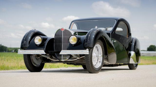 Bugatti Type 57SC Atalante front - RM Sotheby's