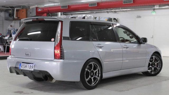 Mitsubishi Lancer Evolution IX GT Wagon - Tori.fi - takaviisto