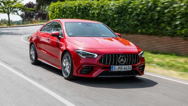 Koeajo: Affalterbachin ärsytetty – Mercedes-AMG CLA 45 S 4Matic+