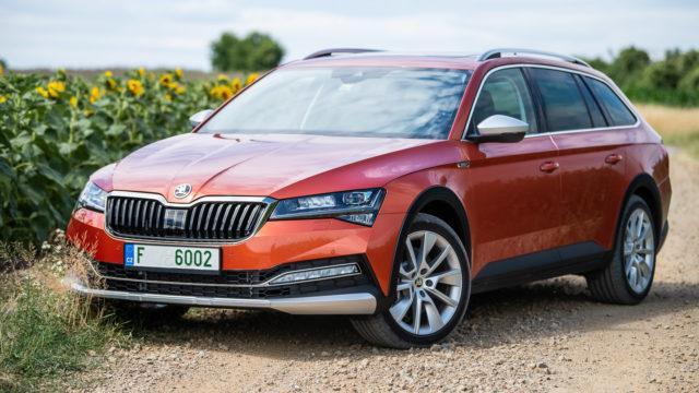 Koeajo: Korkeammalle, taloudellisemmin – Škoda Superb Scout