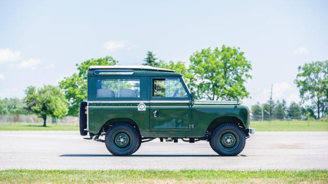 Land Rover Series IIA 88 side - RM Sotheby's