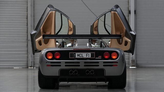 "McLaren F1 ""LM Spec"" rear - RM Sotheby's"