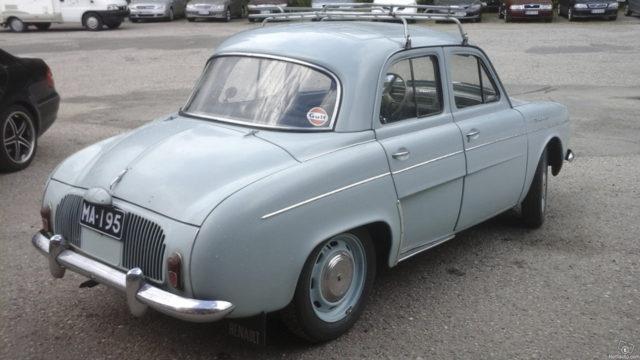 Renault Dauphine - Takaoikea - Tori.fi