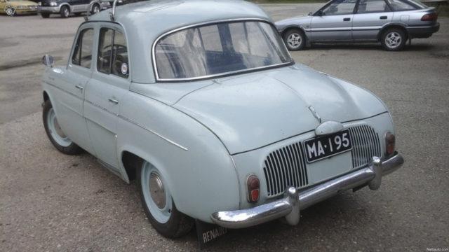 Renault Dauphine - Takavasen - Tori.fi