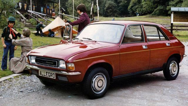 Austin Allegro 4-door 1975-1979