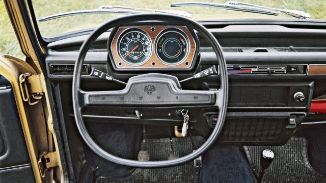 Austin Allegro 4-door 1973-1975 interior