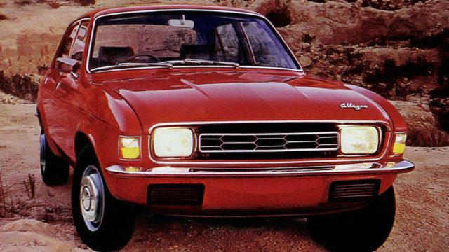 Austin Allegro 4-door 1973-1975