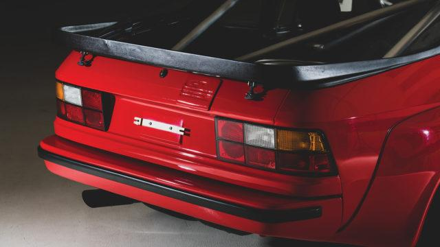 RM Sotheby's - Porsche 924 Carrera GTS rear logo