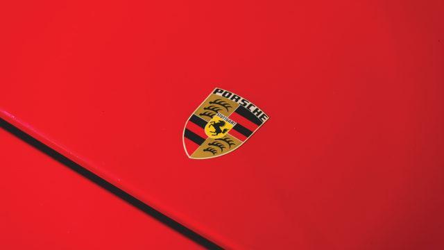 RM Sotheby's - Porsche 924 Carrera GTS emblem