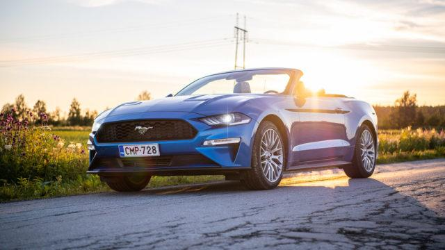Koeajo: Seikkailua kohti – Ford Mustang Convertible 2.3 EcoBoost A10
