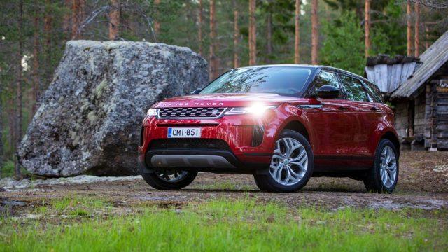 Koeajo: Tasaisemmin tyylikkääksi – Range Rover Evoque