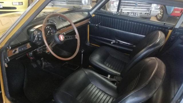 Tori.fi - Fiat 850 Coupe ohjaamo
