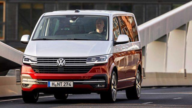 Koeajo: Digikuljetuksia – Volkswagen Transporter ja Multivan