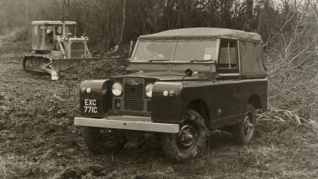 klassinen Land Rover Defender