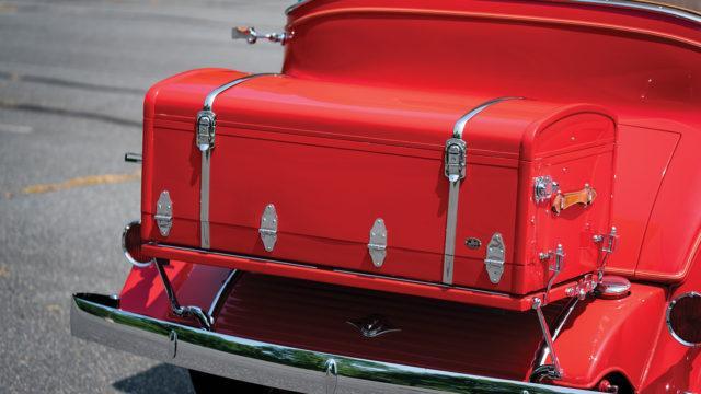 "RM Sotheby's - Cadillac V-16 Sport Phaeton ""low boy"" trunk"