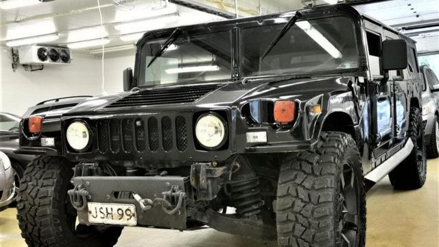 Tori.fi - Hummer H1 etuviisto