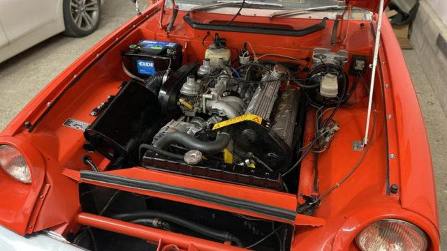 Tori.fi - Jensen-Healey moottori