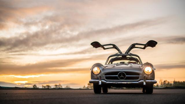 RM Sotheby's - Mercedes-Benz 300 SL Gullwing doors