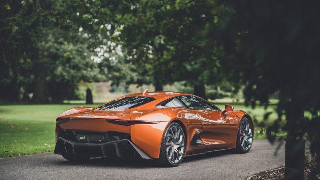 RM Sotheby's - Jaguar C-X75 rears