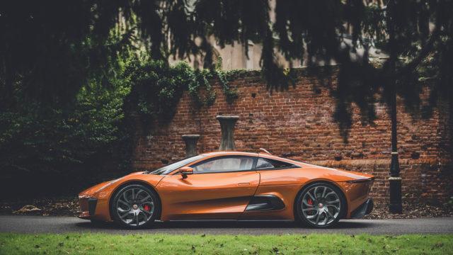 RM Sotheby's - Jaguar C-X75 side