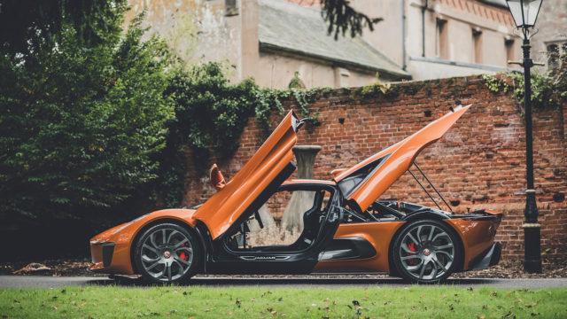 RM Sotheby's - Jaguar C-X75 openings