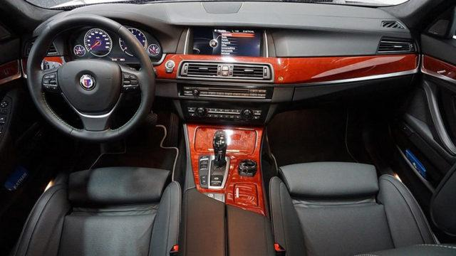Tori.fi - BMW Alpina D5 ohjaamo
