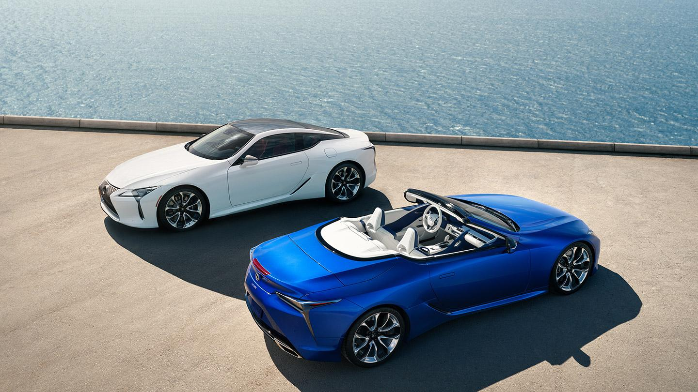 Lexus Los Angeles >> Kalifornian Paisteeseen Lexus Lc 500 Convertible