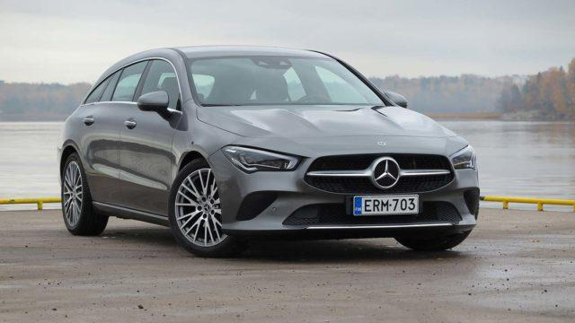 Koeajo: Mahtuvammat muodot – Mercedes-Benz CLA Shooting Brake