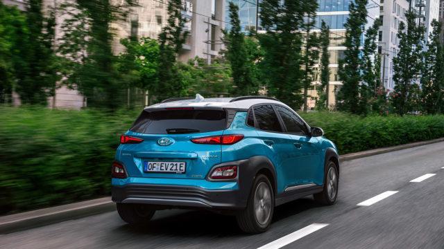 Hyundai Kona Electric hinta 39 kwh