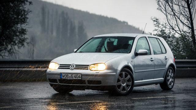 Koeajo: Volkswagen Golf IV V6 4Motion – muisto vanhoilta ajoilta