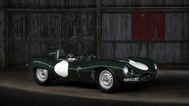 Jaguar D-type front quarter - RM Sotheby's