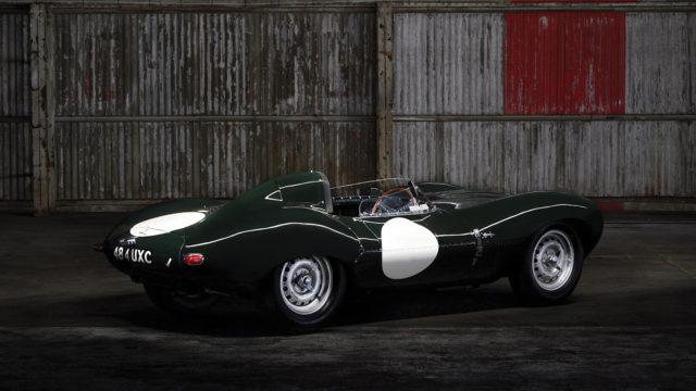 Jaguar D-type rear quarter - RM Sotheby's