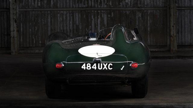 Jaguar D-type rear - RM Sotheby's
