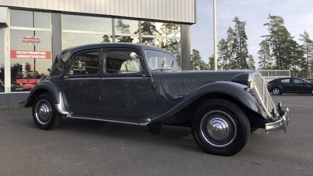 Tori.fi - Citroën Traction Avant 15/6 H etuviisto