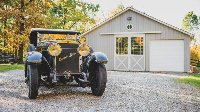 Hispano-Suiza H6B Tourer by Chavet front - RM Sotheby's