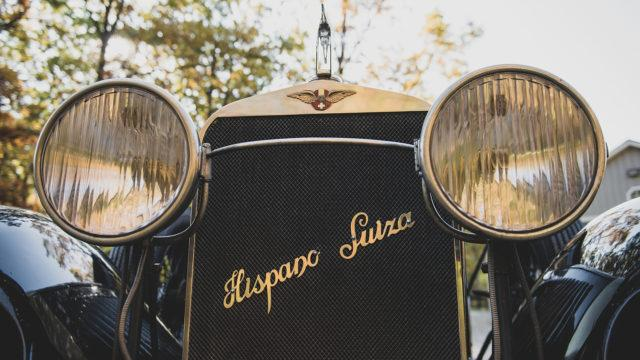 Hispano-Suiza H6B Tourer by Chavet grille - RM Sotheby's