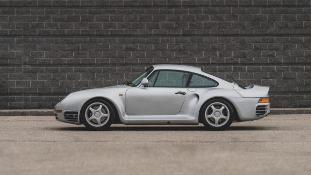 Porsche 959 Komfort side - RM Sotheby's