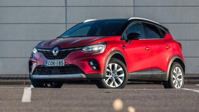 Koeajo: uusi Renault Captur TCe 130 EDC7 on mitoitettu mukavammin