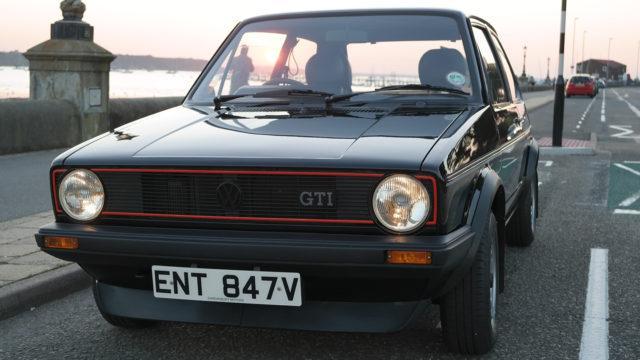 The Market - Volkswagen Golf GTi mk1 front