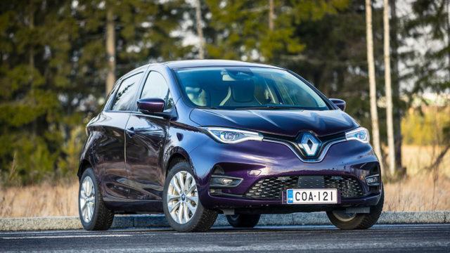 Koeajo: Kotonaan kaupungissa – Renault Zoe