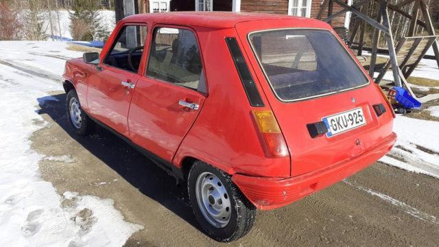 Renault 5 TL taka - Tori.fi