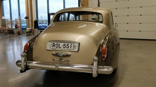 Rolls-Royce Silver Cloud II takaa - Tori.fi