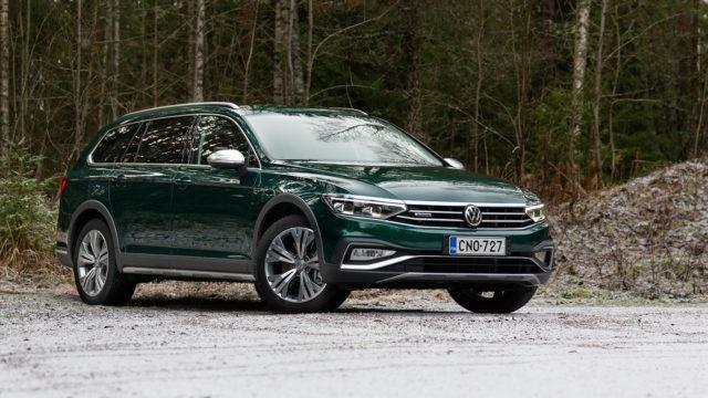 Koeajo: Pröystäilemättä huipulla – Volkswagen Passat Variant Alltrack