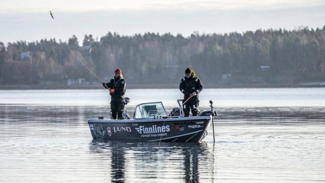 haukijahti tammisaari kalastus video