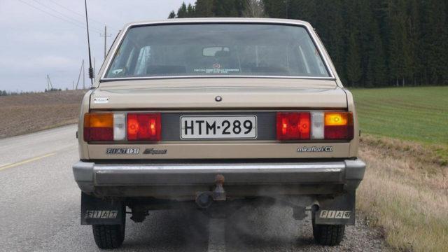 Fiat 131 taka - Tori.fi